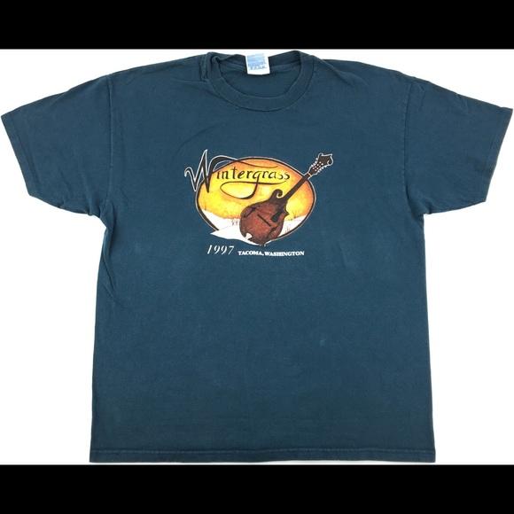 Hanes Other - 1997 Wintergrass Tacoma, Washington Single Stitch